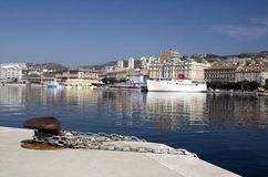 Mediterranean Port of Rijeka Stock Image