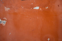 Mediterranean red texture rough. Textured wall, ideal for backgrounds and textures Stock Photo