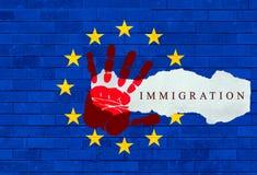Mediterranean Refugee Crisis Stock Photo