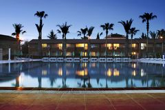 Mediterranean resort Royalty Free Stock Photos