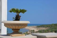 Mediterranean resort Stock Photos