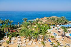 Mediterranean resort Royalty Free Stock Photos