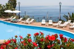 Mediterranean resort Royalty Free Stock Images