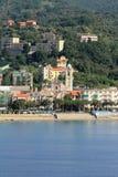 Mediterranean resort. Albissola-Marina, Savona, Italy Stock Images