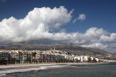 Mediterranean resort Altea, Spain Royalty Free Stock Photo