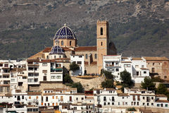 Mediterranean resort Altea, Spain Royalty Free Stock Photos