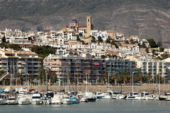 Mediterranean resort Altea, Spain Stock Photo