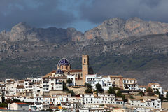 Mediterranean resort Altea, Spain Stock Photography