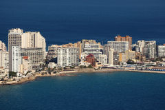 Mediterranean resort Calpe, Spain Stock Photo