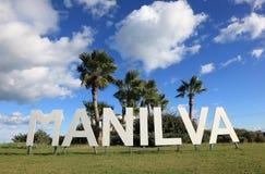 Mediterranean resort Manilva Stock Photo