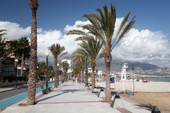 Mediterranean resort in Spain Stock Photography