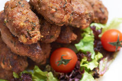 Mediterranean rissole Stock Photo