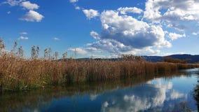 Mediterranean rivers in autumn stock video footage