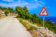 Mediterranean road Royalty Free Stock Image
