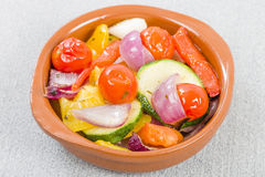 Mediterranean Roasted Vegetables Stock Image