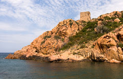 Mediterranean rocky coast Royalty Free Stock Photos