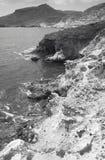 Mediterranean rocky coastline in Almeria. Spain Stock Photo