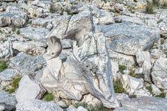 Mediterranean rocky shores Stock Photography