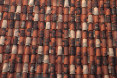 Mediterranean roof Royalty Free Stock Image