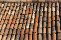 Mediterranean roof tiles Royalty Free Stock Image