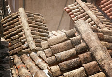 Mediterranean roof Stock Photography