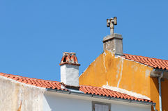 Mediterranean rooftops Royalty Free Stock Image