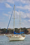 Mediterranean Sailboat Royalty Free Stock Image
