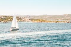 Mediterranean sailing Stock Photo