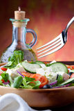 Mediterranean Salad. Delicious and Fresh Greek Style Salad Royalty Free Stock Photography