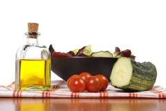 Mediterranean salad Stock Images