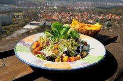 Mediterranean salad dish Stock Image