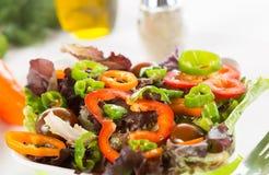 Mediterranean salad Stock Image