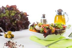 Mediterranean salad Royalty Free Stock Images