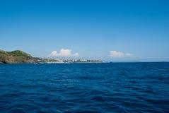 Mediterranean Sea. An ocean view from a cruise ship Royalty Free Stock Photos