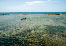 Mediterranean Sea. Akko in Israel. Royalty Free Stock Photography