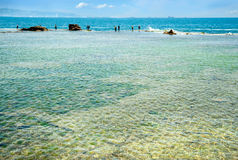 Mediterranean Sea. Akko in Israel. Stock Photography