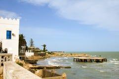 Mediterranean Sea Beach Carthage Tunisia Africa Stock Photos