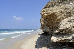 Mediterranean Sea beach, Israel Royalty Free Stock Photography