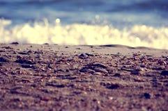 Mediterranean Sea beach Stock Photo