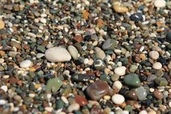 Pebble texture/background Royalty Free Stock Image