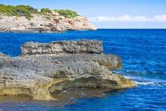 Mediterranean Sea. Cala Dor. Mallorca, Spain Stock Photography