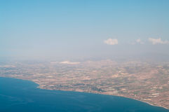 Mediterranean sea and coast Stock Image