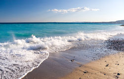 Mediterranean sea coast Royalty Free Stock Image