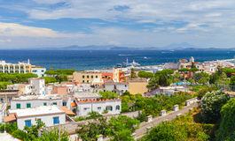 Mediterranean Sea coast, bay of Naples, Ischia Stock Photo