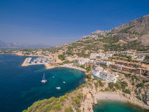 Mediterranean sea coast. Spain, Costa Blanca Stock Image