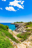 Mediterranean Sea Coast Spain Majorca Island Stock Photos