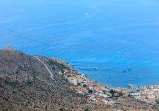 Mediterranean Sea coastline Cartagena, Spain. Stock Photos