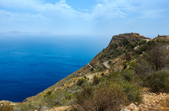 Mediterranean Sea coastline Cartagena, Spain. Stock Photo