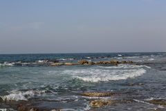 Mediterranean sea cost Royalty Free Stock Photography