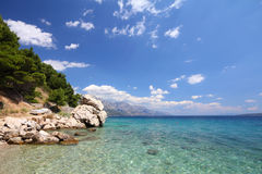 Mediterranean Sea, Croatia Royalty Free Stock Photography